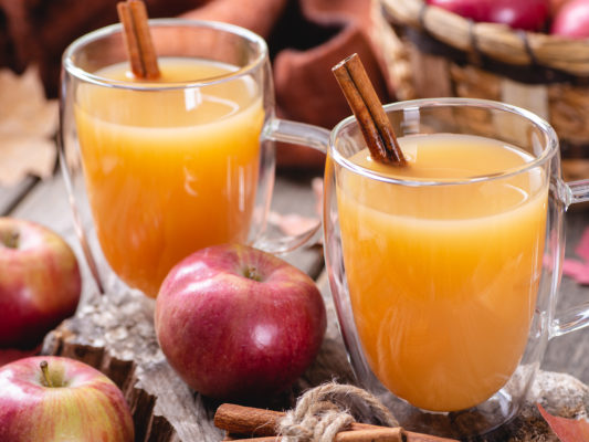 This easy and comforting hot apple cider drink is a perfect beverage to enjoy in the fall and winter months. Spiced just right with cinnamon, cloves, nutmeg, and allspice, it warms your soul and comforts your body
